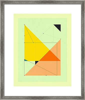 Delineation - 105 Framed Print