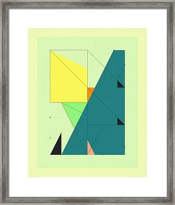 Delineation - 108 Framed Print