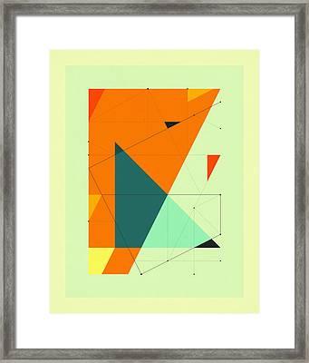 Delineation - 109 Framed Print