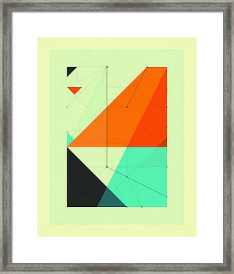 Delineation - 116 Framed Print