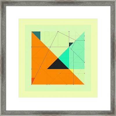 Delineation - 118 Framed Print