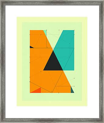 Delineation - 119 Framed Print