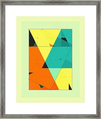 Delineation - 120 Framed Print