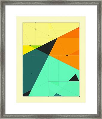 Delineation - 125 Framed Print