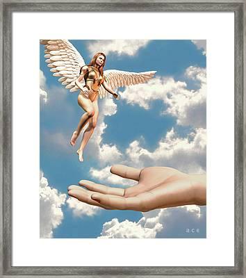 Deliverance   Framed Print by Ace Layton