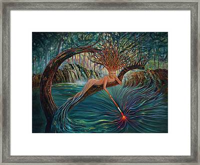 Deliverance Framed Print by Claudia Goodell