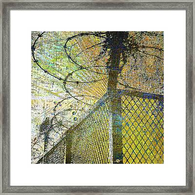 Framed Print featuring the mixed media Deliverance by Tony Rubino