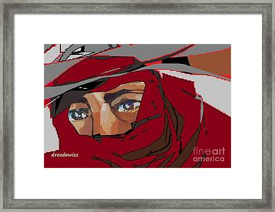 Delivery Boy Framed Print