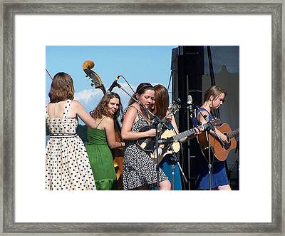 Della Mae Framed Print by Debbie Hall