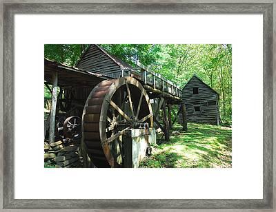 Dellinger Mill Framed Print by Alan Lenk