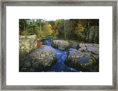Dells Of The Eau Claire Framed Print