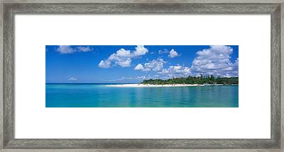 Delnor Wiggins State Park, Florida, Usa Framed Print by Panoramic Images