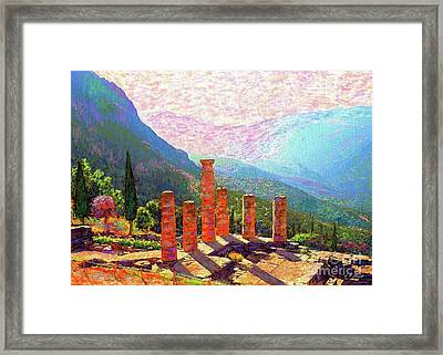 Delphi Magic Framed Print by Jane Small