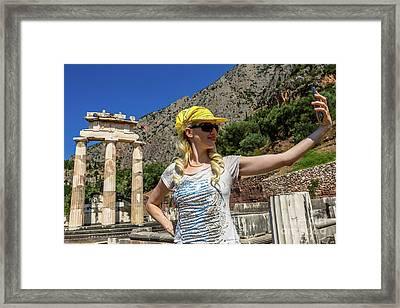 Delphi Tholos Framed Print