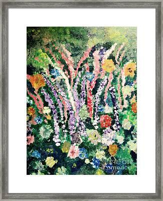 Delphineums 2 Framed Print
