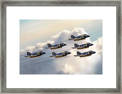 Delta 6 Framed Print by Peter Chilelli