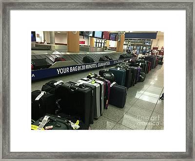 Framed Print featuring the photograph Delta Irony by David Bearden