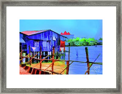 Delta Cove Framed Print
