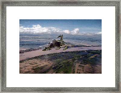 Framed Print featuring the digital art Delta Deliverance by Peter Chilelli