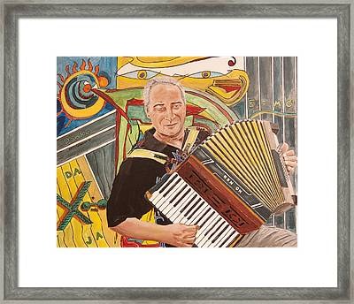 Delta Deutschland Blues Framed Print by Kevin Callahan