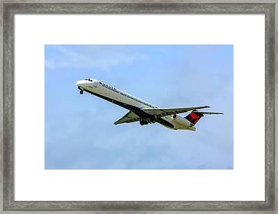 Delta Md88 Framed Print