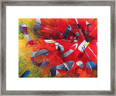 Delta Medley II Framed Print by Rollin Kocsis