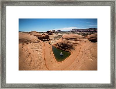 Delta Pool 2 Framed Print