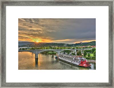 Delta Queen 1 Framed Print by Dale Wilson