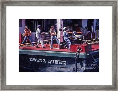 Delta Queen Riverboat Framed Print by Randy Muir