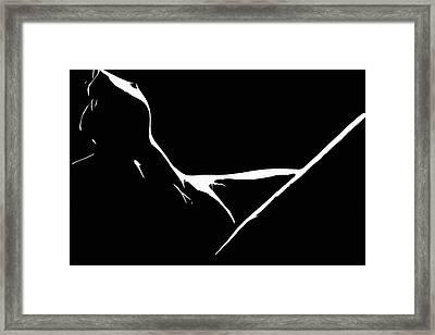Delta Framed Print by Steve K