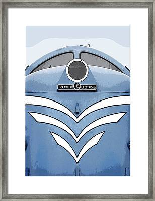 Deltic Dp1 No Border Framed Print by Andrew Greaves