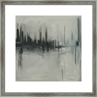 Deluge Framed Print by Liz Maxfield