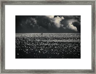 Delusion Framed Print by Taylan Apukovska