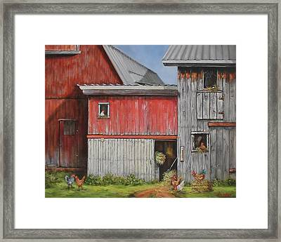 Deluxe Accommodations Framed Print