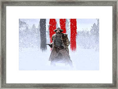 Demian Bichir The Hateful Eight Framed Print by Movie Poster Prints