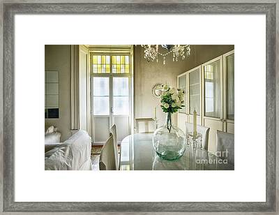 Framed Print featuring the photograph Demijohn And Window Color Cadiz Spain by Pablo Avanzini
