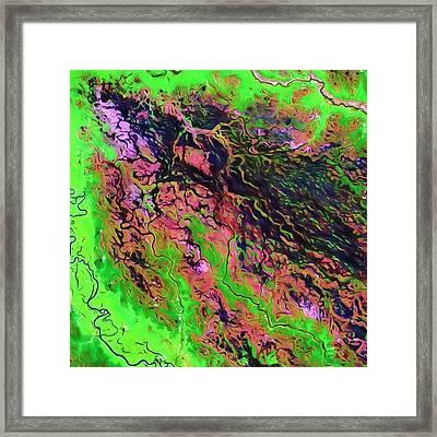 Demini River Framed Print