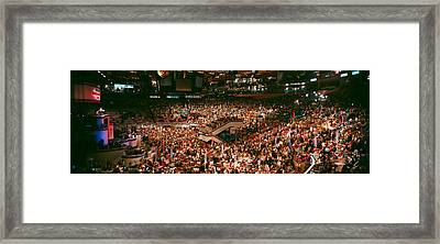 Democratic Convention At Madison Square Framed Print by Panoramic Images