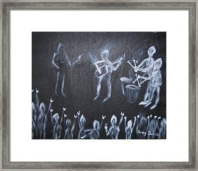 Demon Band Framed Print by Gregory Davis