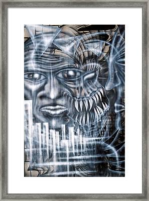 Demon City Framed Print by Leigh Odom