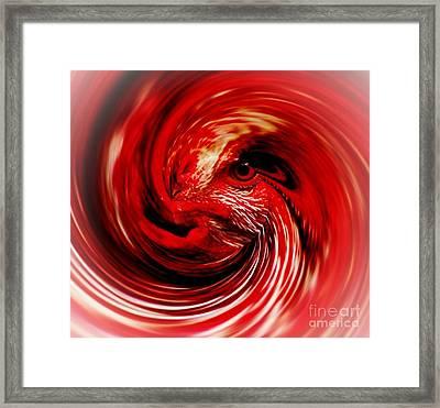 Demon Fire Framed Print by Brent Sisson