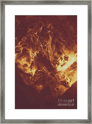Demon Hellish Nightmare Framed Print by Jorgo Photography - Wall Art Gallery
