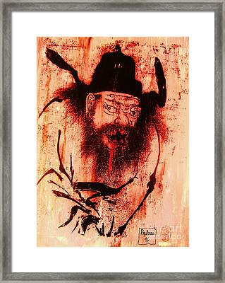 Demon Queller Framed Print