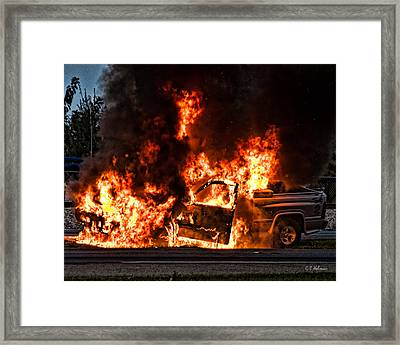 Demon Released Framed Print by Christopher Holmes