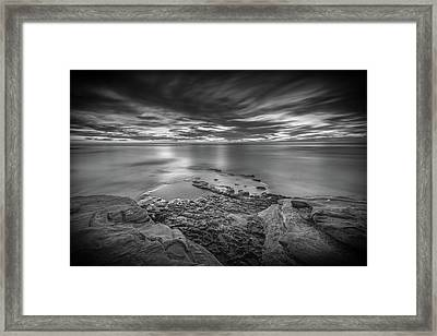 Demon Sky Framed Print by Peter Tellone