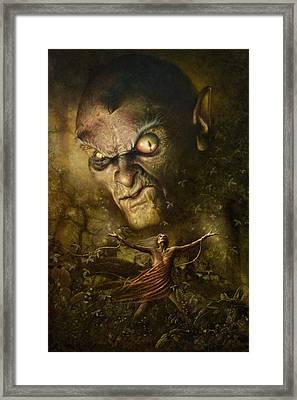 Demonic Evocation Framed Print