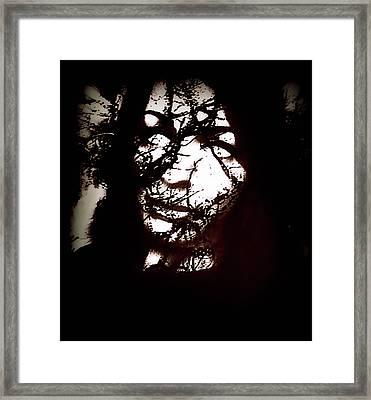 Demonic Framed Print