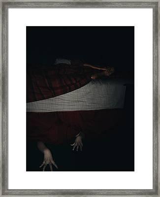 Demons From My Brain Framed Print