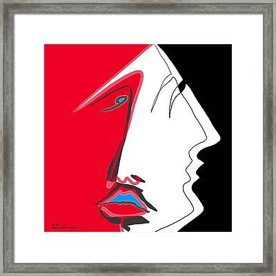 Demons Framed Print