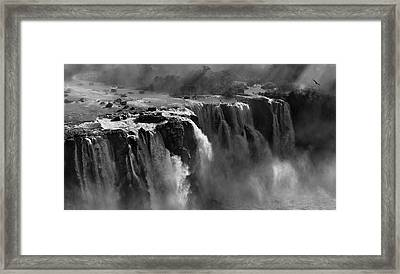 Demonstration Of Power Framed Print